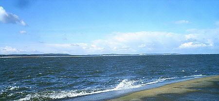 Blick auf die Ostseebäder auf Usedom